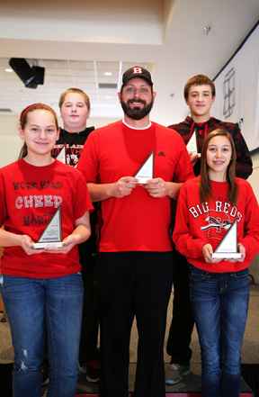 Bellaire Middle School took first place at Belmont College's 2014 MATHCOUNTS and will proceed to the state competition in Ohio.