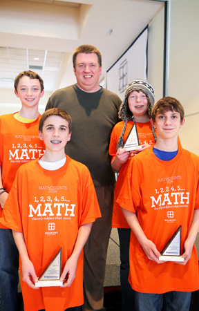 Follansbee Middle School took second place at Belmont College's 2014 MATHCOUNTS and will proceed to the state competition in West Virginia.