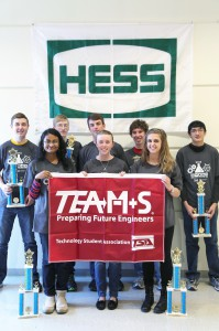 Wheeling Park High School Team A took 11th & 12th first place at Belmont College's 2015 TEAMS competition.