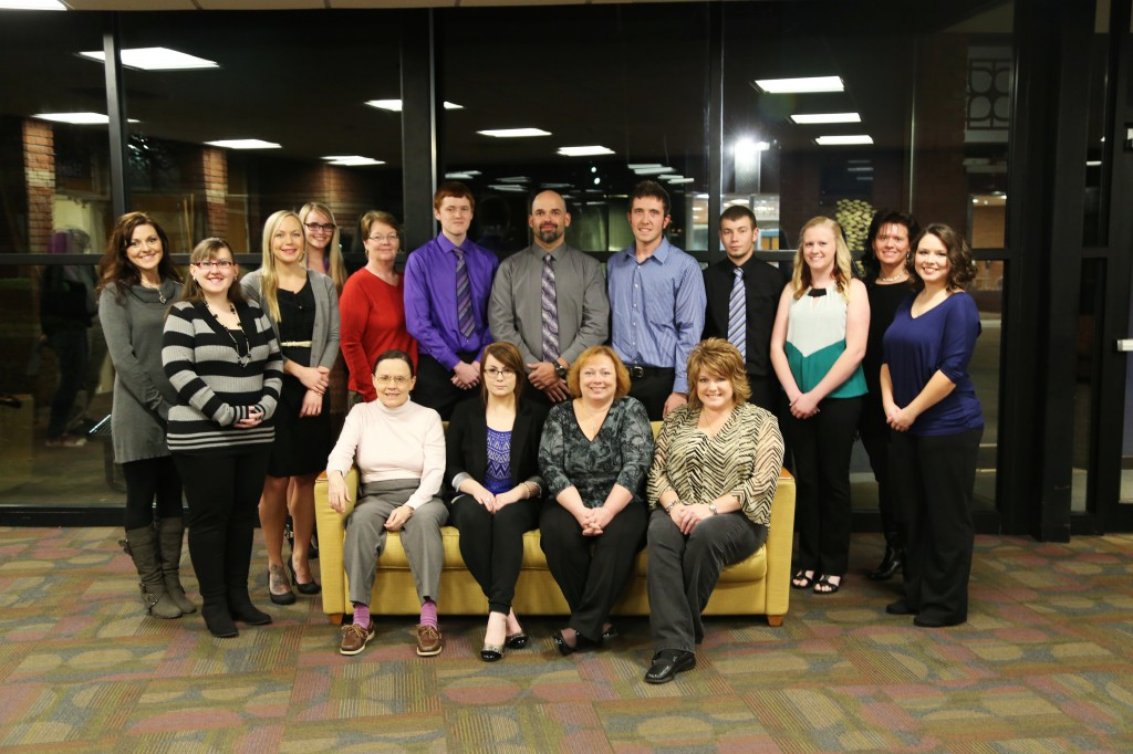 Photo Caption: Belmont College Fall 2015 Phi Theta Kappa inductees.
